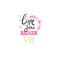 mothers day calligraphy lettering sign for poster vector image