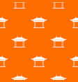 pagoda pattern seamless vector image vector image