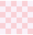 Pink White Chess Board Background vector image vector image