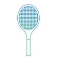 racket sport tennis equipment object vector image