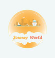 tours around the world vector image