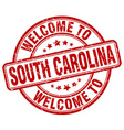 welcome to South Carolina vector image vector image