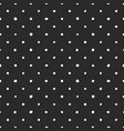 seamless dark pattern with tile white polka dots vector image