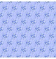 seamless dot pattern on blue background vector image