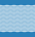 seamless wave background in the sea vector image vector image