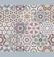 set from red and grey hexagonal patterned tiles vector image vector image