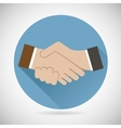 Symbol Concept Successful Partnership Business vector image vector image