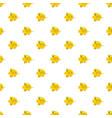 yellow fish pattern vector image