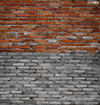 Collection of brick wall background vector image vector image
