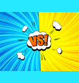 comic fight and duel dynamic concept vector image vector image