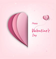 happy valentines day decoration cute design vector image vector image