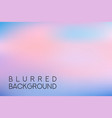 horizontal wide multicolored blurred background vector image vector image