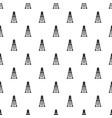 oil derrick pattern seamless vector image vector image