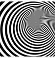 psychedelic hypnotic spiral vector image vector image