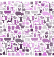 shopping icons pattern with theme for sale vector image vector image