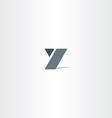 y icon y letter sign logotype vector image vector image