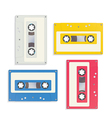 Audio tapes vector image