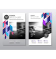 abstract business flyer design template in a4 size