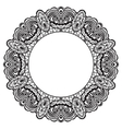 Abstract ornate frame Element for design vector image