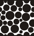 abstract pattern with circles vector image vector image