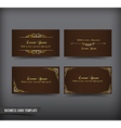 Business Card template set 59 vector image vector image