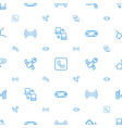 connection icons pattern seamless white background vector image vector image