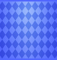 cool blue argyle seamless pattern vector image vector image
