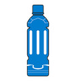 mineral water bottle vector image