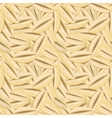 seamless pattern with grains of wheat vector image