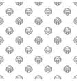 vegan broccoli pattern seamless vector image vector image