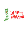 hand drawn set of cozy christmas socks for gifts vector image vector image