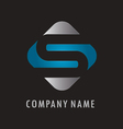 S business logo vector image