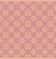 seamless pattern in pink and orange vector image