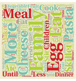 Solve the Dinner Dilemma text background wordcloud vector image vector image