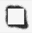 spray painted frame vector image