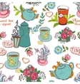 tea seamless vector image