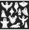Ghost character set vector image