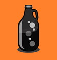 2 litre Beer Growler vector image