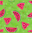 fruit mix pattern 1 vector image vector image