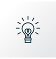 innovation icon line symbol premium quality vector image vector image