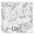 painted furniture Word Cloud Concept vector image vector image