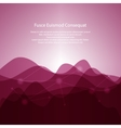 Pink Abstract Background from Waves vector image vector image