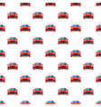 red car pattern vector image vector image