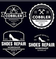 set vintage logos labels badges vector image