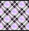 tartan seamless pattern background ultra violet vector image vector image