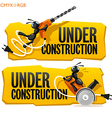 Ants Under Construction vector image