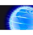 earth concept vector image vector image