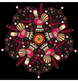 Filimonovo circular ornament vector image vector image