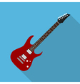 flat guitar 6 vector image vector image