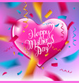 mothers day design layout vector image vector image